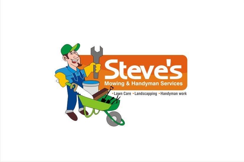 Конкурсная заявка №53 для Logo Design for Steve's Mowing & Handyman Services