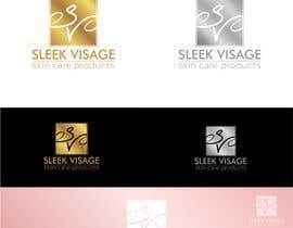 #24 para Sleek Visage Logo Contest por galinmihalna