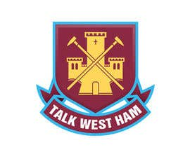 nº 6 pour Graphic Design for Talk West Ham par innagraphic