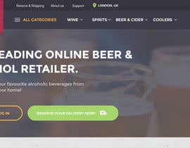 #4 for Design a Beer / Liquor / Wine Website by thememate