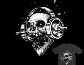 #46 for Skull T-Shirt Design by unaas