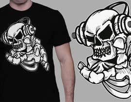 #53 for Skull T-Shirt Design by cjaraque