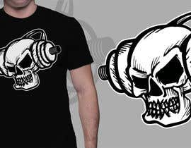 #56 for Skull T-Shirt Design by cjaraque