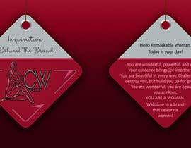 #16 para Create hang tag for clothing, backdrop, and Packaging Designs por veranika2100