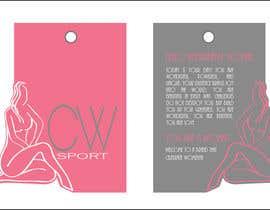 #11 para Create hang tag for clothing, backdrop, and Packaging Designs por riponrs