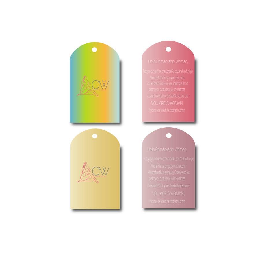Inscrição nº                                         3                                      do Concurso para                                         Create hang tag for clothing, backdrop, and Packaging Designs