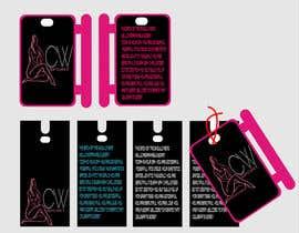 #31 para Create hang tag for clothing, backdrop, and Packaging Designs por saaadvirk2014