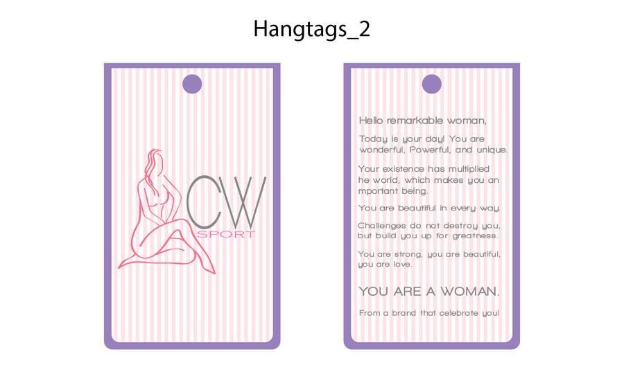 Inscrição nº                                         9                                      do Concurso para                                         Create hang tag for clothing, backdrop, and Packaging Designs