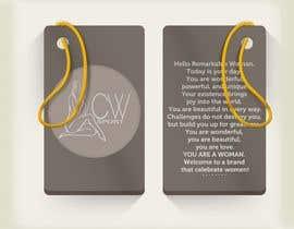 #5 para Create hang tag for clothing, backdrop, and Packaging Designs por imdadkhan