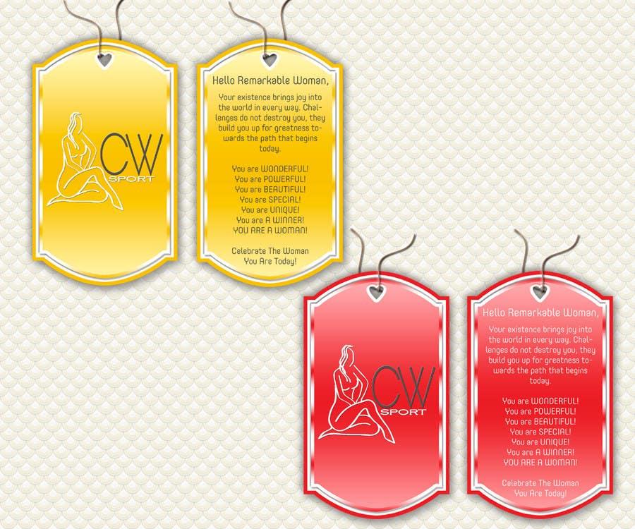 Inscrição nº                                         27                                      do Concurso para                                         Create hang tag for clothing, backdrop, and Packaging Designs