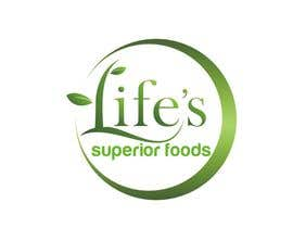 #145 pentru Logo Design for Life's Superior Foods de către hungdesign