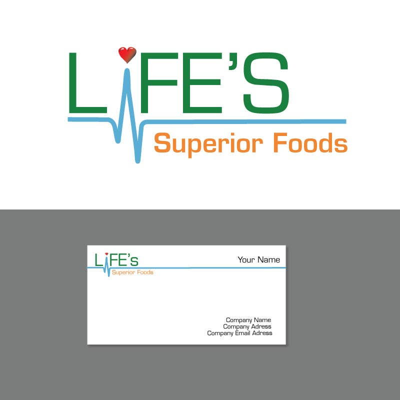 Конкурсная заявка №152 для Logo Design for Life's Superior Foods
