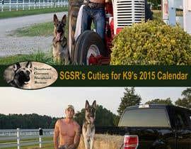 #7 para Design a Calendar for Southeast German Shepherd Rescue por OzrenC