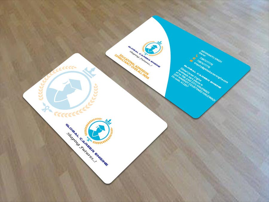Entry #11 by sujan18 for Design some Business Cards Education ...