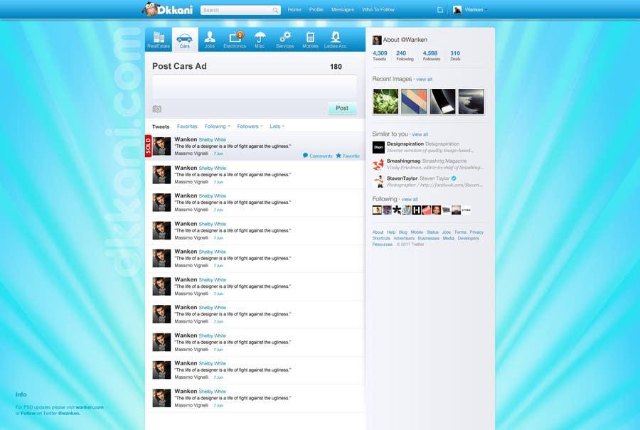 Penyertaan Peraduan #                                        34                                      untuk                                         Graphic Design for dkkani.com