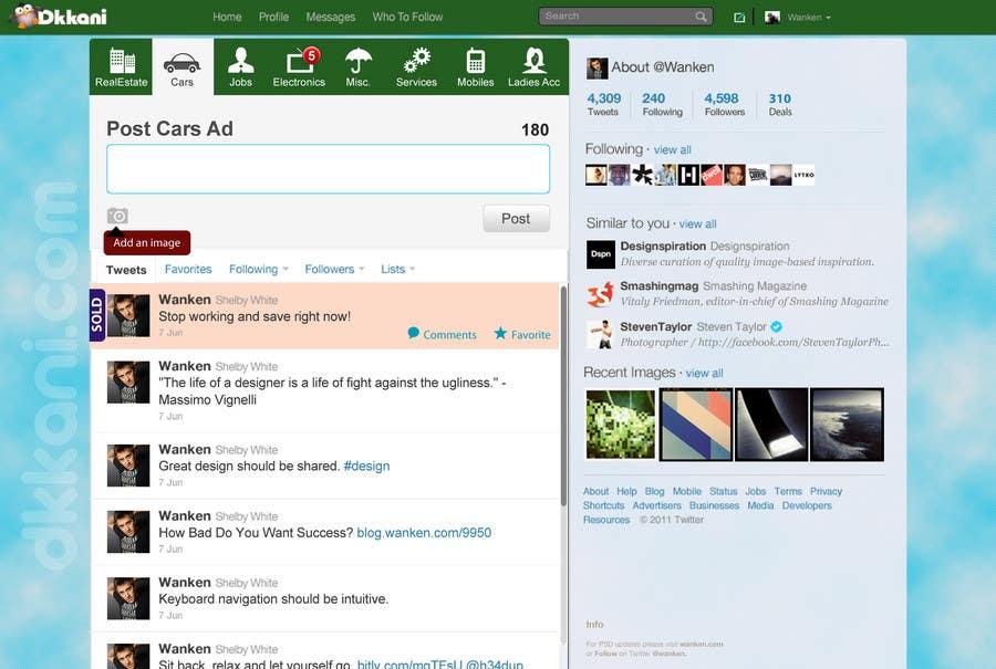 Penyertaan Peraduan #                                        31                                      untuk                                         Graphic Design for dkkani.com