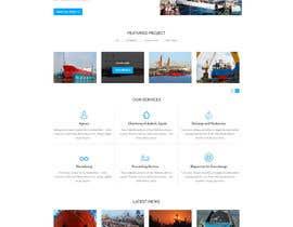 Nro 35 kilpailuun Redesign of www.shipping-services.de käyttäjältä designerchoize