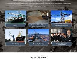 Nro 29 kilpailuun Redesign of www.shipping-services.de käyttäjältä csatya