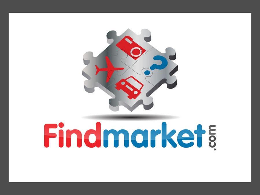 Konkurrenceindlæg #447 for Logo Design for Findmarket.com