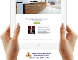 nº 11 pour Design an updated website for a technology company at http://evestigate.com par surajitdutta