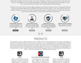 nº 22 pour Design an updated website for a technology company at http://evestigate.com par sharpBD