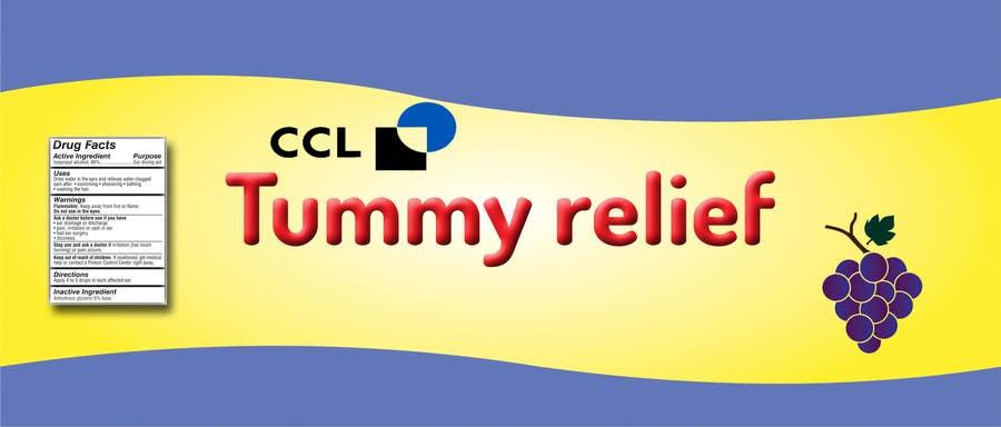 contest entry 4 for label design cough syrup or heartburn liquid medication label