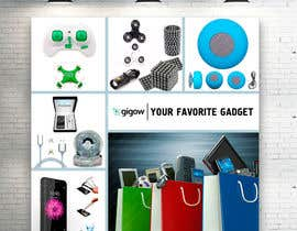 #48 for Design a banner for a futuristic ecommerce gadget site by RomanTupolev