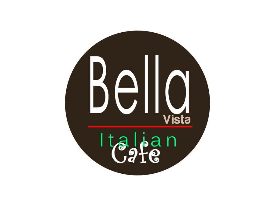 Kilpailutyö #378 kilpailussa Logo Design for Bella Vista -- Italian Café