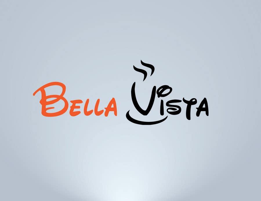 Kilpailutyö #356 kilpailussa Logo Design for Bella Vista -- Italian Café