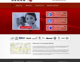 #50 for Website Design for Computer Rehab by eb007
