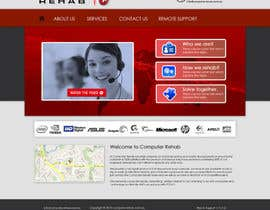 nº 53 pour Website Design for Computer Rehab par eb007