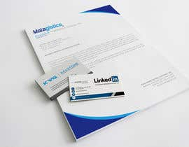 #43 for Design Business Cards and matching letterhead for Motagistics by mehedi0322