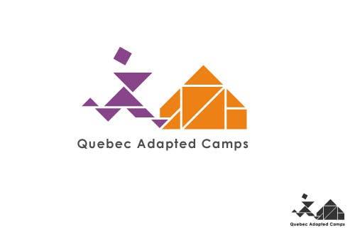 Kilpailutyö #23 kilpailussa Logo Design for Quebec Adapted Camps / Camps Adaptés Québec