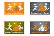Graphic Design Kilpailutyö #24 kilpailuun Logo Design for Quebec Adapted Camps / Camps Adaptés Québec