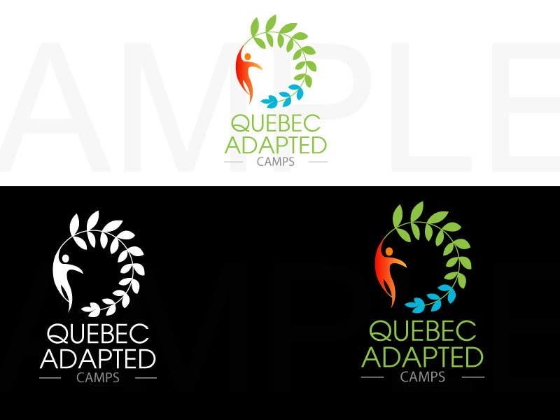 Kilpailutyö #44 kilpailussa Logo Design for Quebec Adapted Camps / Camps Adaptés Québec
