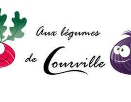 """nº 23 pour Améliorer notre logo """"Aux légumes de Courville"""" par barcelonebcn"""