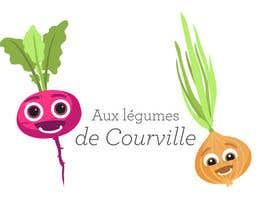 """nº 26 pour Améliorer notre logo """"Aux légumes de Courville"""" par Katt27"""