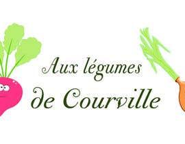 """nº 14 pour Améliorer notre logo """"Aux légumes de Courville"""" par ouahab"""