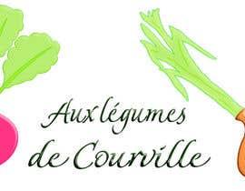 """nº 15 pour Améliorer notre logo """"Aux légumes de Courville"""" par ouahab"""