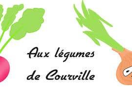 """nº 17 pour Améliorer notre logo """"Aux légumes de Courville"""" par ouahab"""