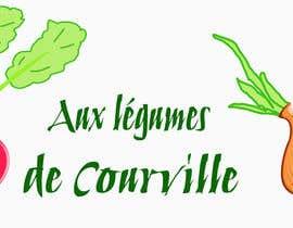 """nº 20 pour Améliorer notre logo """"Aux légumes de Courville"""" par ouahab"""
