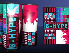 Meringo tarafından Photoshop Design for B-Hype Energy Drink için no 107