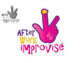 #46 para Logo Design for After Work improvisé por misutase