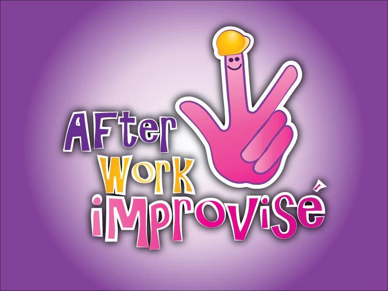 Inscrição nº 50 do Concurso para Logo Design for After Work improvisé