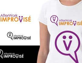 #1 para Logo Design for After Work improvisé por IzzDesigner