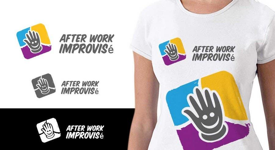 #23 for Logo Design for After Work improvisé by IzzDesigner