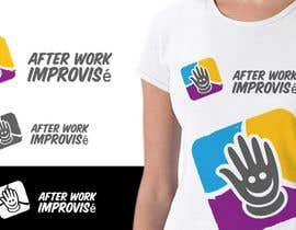 IzzDesigner tarafından Logo Design for After Work improvisé için no 23