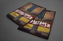 Flyer Design for Gitaartabs.nl an online guitar community with pro vido lesson and songs için Graphic Design18 No.lu Yarışma Girdisi