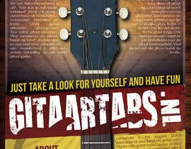 #10 untuk Flyer Design for Gitaartabs.nl an online guitar community with pro vido lesson and songs oleh thuanbui