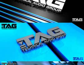 #95 para Logo Design for Technical Audio Group    TAG por janilottering